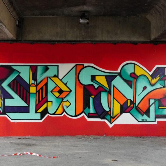 eno graffiti writing ktm