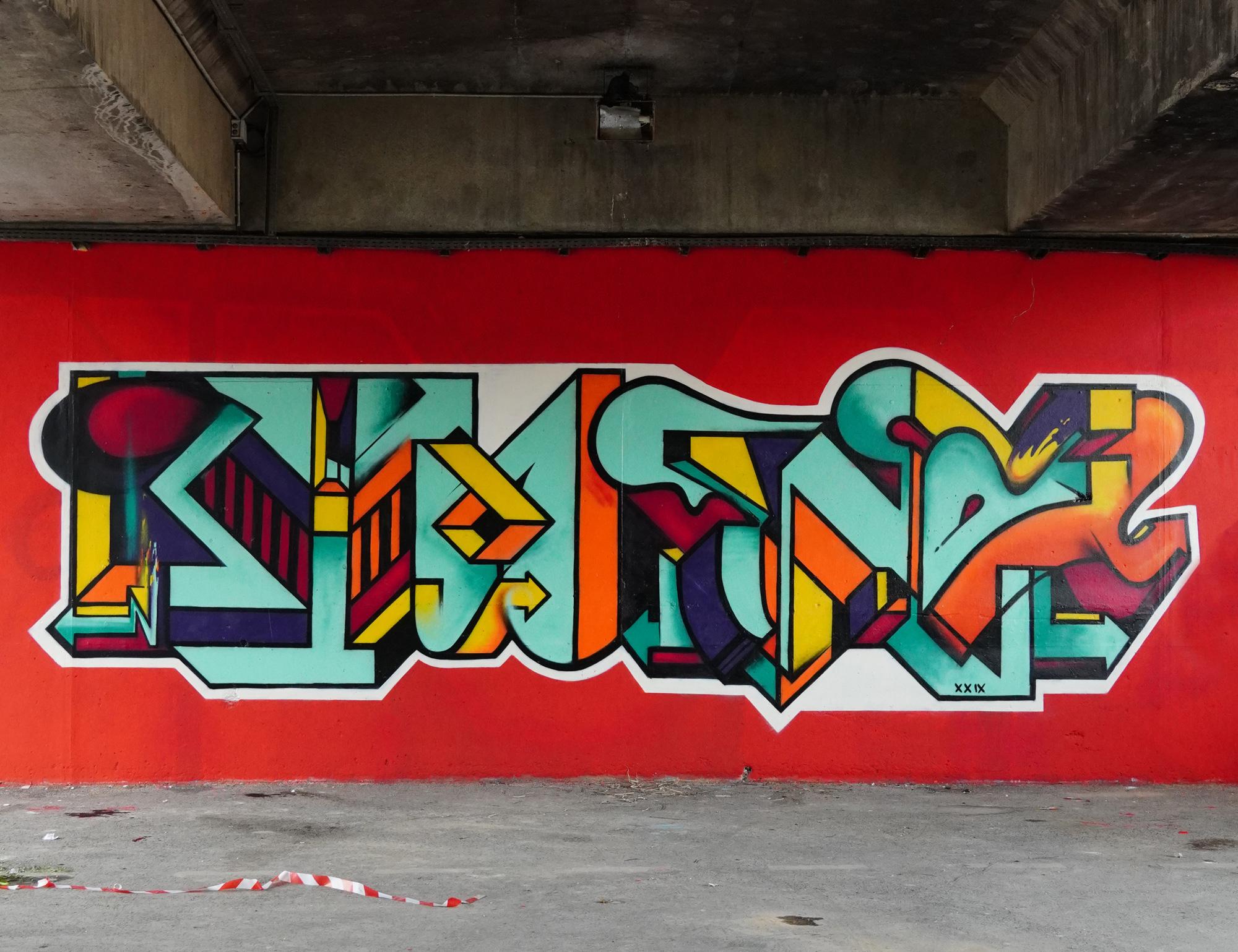 eno graffiti writing ktm naples