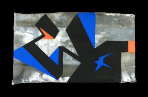 eno ktm graffiti silkscreen print writing