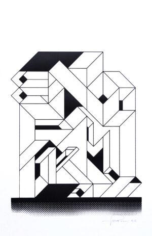 eno ktm graffiti silkscreen print writing